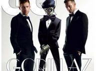 Le groupe Gorillaz transformé en gravure de mode ? On adore !