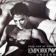Victoria et David Beckham pour Emporio Armani Underwear