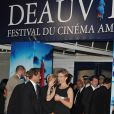 Emmanuel Béart, présidente, et le jury du 36e festival de Deauville ont récompensé le 11 septembre Annette Bening pour Mother and child.