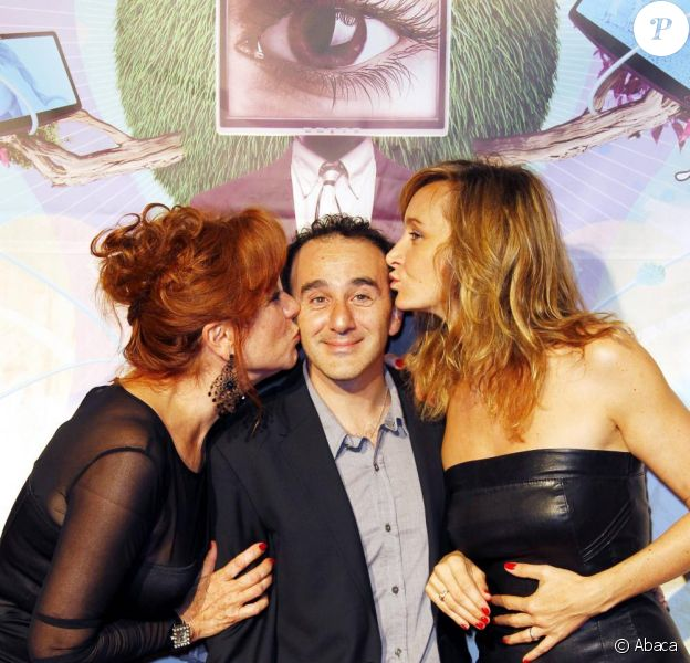 Julie Ferrier, Elie Semoun et Eva  Darlan ne sont pas venus pour rien puisque le téléfilm Un divorce de  chien a été récompensé du prix du  Meilleur Scénario.
