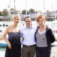 Eva Darlan est venue à La Rochelle pour présenter le téléfilm  Un divorce de chien,  récompensé du prix du Meilleur Scénario.