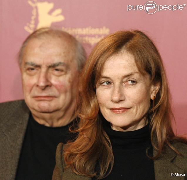 Claude Chabrol, ici avec Isabelle Huppert, nous a quittés le 12 septembre, à l'âge de 80 ans.