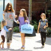 Brooke Burke transmet ses talents de fashionista à ses trois filles, très craquantes !