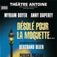 """""""Anny Duperey et Myriam Boyer joue dans la pièce Désolée pour la Moquette """""""