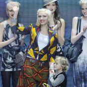 Gwen Stefani fait défiler son fils Kingston, et c'est une vraie star !