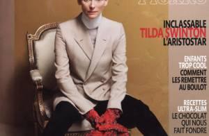 Tilda Swinton met les choses au clair sur les deux hommes de sa vie et son ''ménage à trois'' !