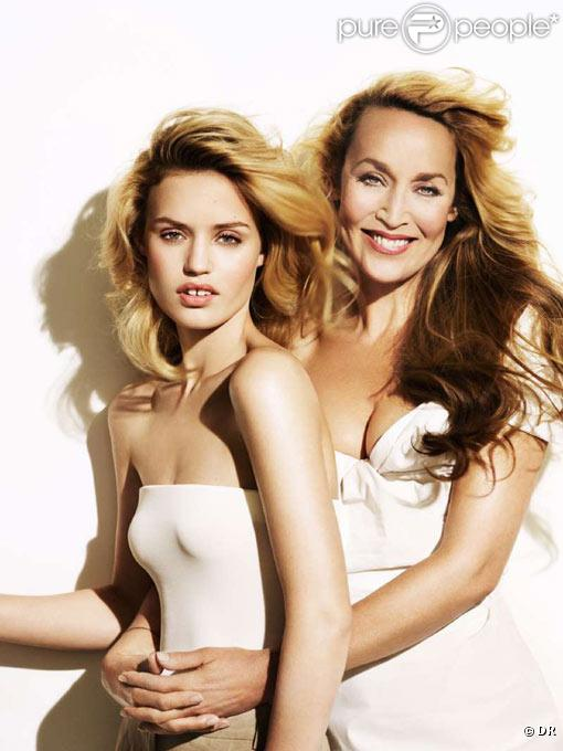 Georgia May Jagger et Jerry Hall pour Invisible Zinc