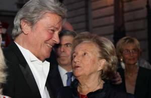 Alain Delon a charmé Bernadette Chirac devant le clan Souchon !
