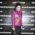 """Lamia Khashoggi lors du défilé """"Miss Bikini"""" dans le cadre de la Fashion Week de Milan, le 22 septembre 2010"""