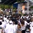 Obsèques de Patrick Saint-Eloi au Moule en Guadeloupe, le 22 septembre 2010