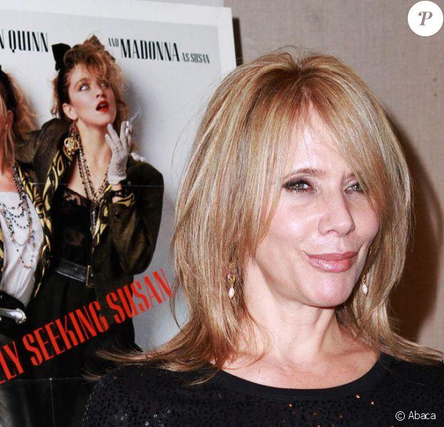 Rosanna Arquette lors du 25e anniversaire du film Recherche Susan désespérément à New York le 23 septembre 2010