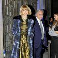"""""""Anna Wintour à la soirée Prestige et Vogue, durant la Fashion Week de Milan, le 25 septembre 2010"""""""
