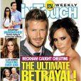 David et Victoria Beckham en couverture de  In touch , septembre 2010