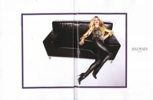 Kate Moss en mode star du rock, on est sous le charme...