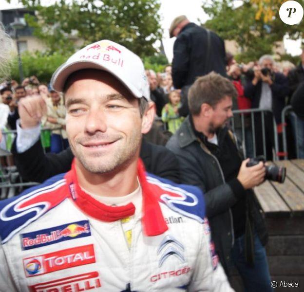 Sebastien Loeb lors du Rally de France. Ici à Strasbourg le 30 septembre 2010