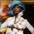 Défilé John Galliano collection pret à porter printemps été 2011 à Paris lors de la Fashion Week le 3 octobre 2010