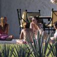 Nicole Richie fête ses 29 ans à México en compagnie de ses amies Christina Aguilera et Samantha Ronson, le 19 septembre 2010