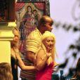 Nicole Richie fête ses 29 ans à México en compagnie de ses amies Christina Aguilera et Samantha Ronson, le 18 septembre 2010