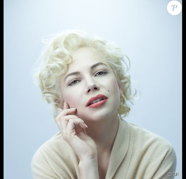 Michelle Williams est Marilyn Monroe pour le film My Week with Marilyn