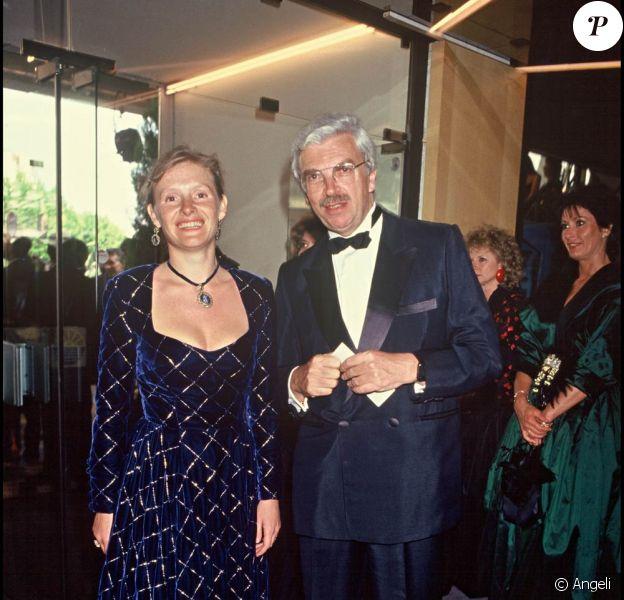 Sophie Toscan du Plantier et son mari Daniel Toscan du Plantier.