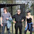 Richie Sambora et Heather Locklear supportent leur fille Ava Sambora sur les terrains de foot !