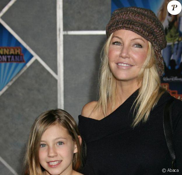 Heather Locklear et sa fille Ava en 2008
