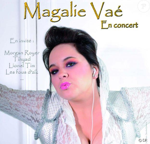 Magalie Vaé : affiche de son spectacle du 1er octobre 2010
