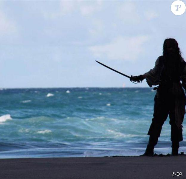 Johnny Depp dans Pirates des Caraïbes - La Fontaine de Jouvence, en salles en mai 2011.