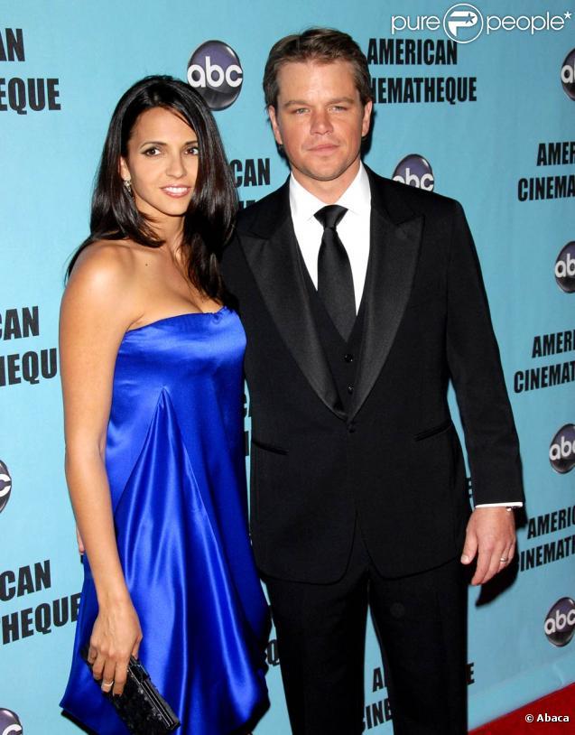 Matt Damon et Luciana sont les heureux parents d'une petite Stella Zavala, née le 20 octobre 2010.