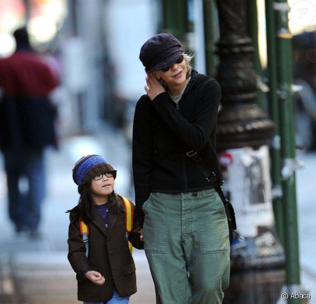 Meg Ryan et sa fille Daisy True (le 26 octobre 2010 à NYC)