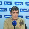 Thierry Jérôme s'exprime sur Europe 1 après sa libération, le 14 octobre 2009