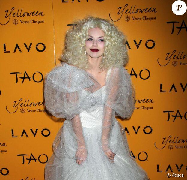 AnnaLynne McCord lors de la soirée Yelloween, organisée par Veuve Clicquot, le 30 octobre 2010
