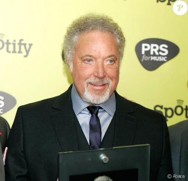 Tom Jones lors des Awards Music Industry Trusts 2010, à Londres, le 1er novembre 2010
