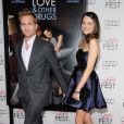 Jacinda Barrett et Gabriel Macht à la première de Love and other drugs, à Hollywood, le 4 novembre 2010