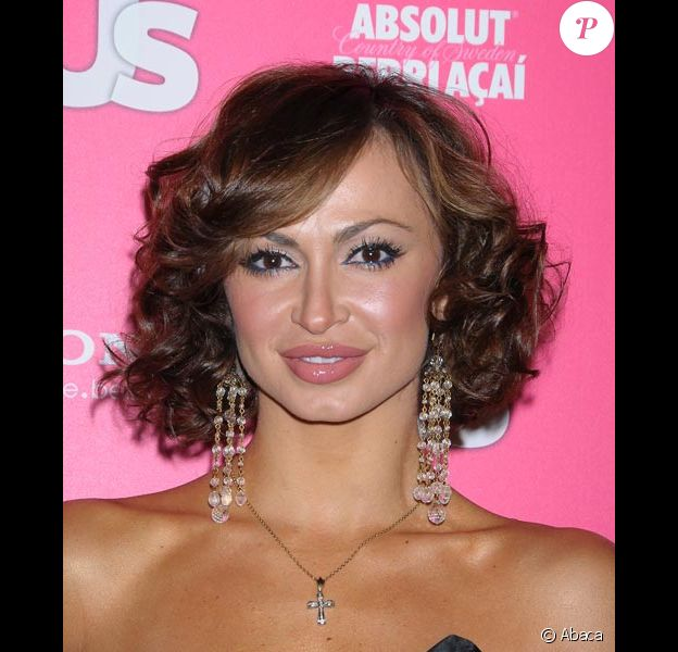 Karina Smirnoff à Los Angeles en avril 2010