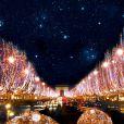 Les illuminations des Champs-Elysées