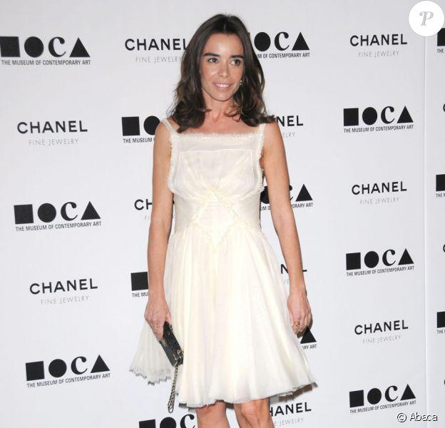 Elodie Bouchez lors du gala du musée d'art contemporain de Los Angeles avec Chanel le 13 novembre 2010