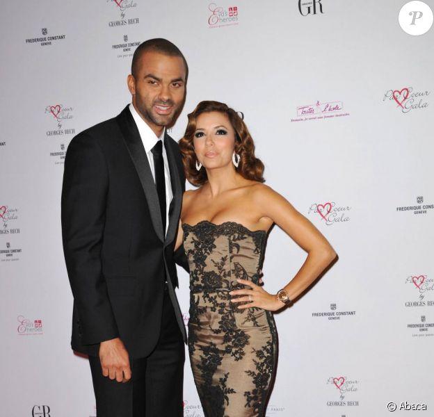 Eva Longoria et Tony Parker au Par Coeur Gala 2010.
