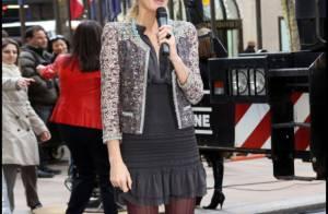 Blake Lively : Lookée de la tête aux pieds, elle scintille pour New York !