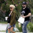 Christina Aguilera, ici avec Jordan Bratman, son mari avec qui elle est actuellement en instance de divorce.