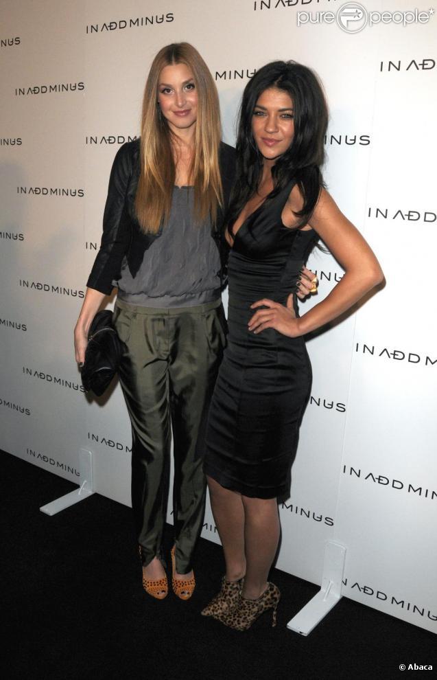 Whitney Port et Jessica Szohr à l'ouverture de la boutique In Add Minus à Los Angeles, le 18 novembre 2010
