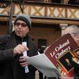 Fabrice Luchini préside la 150e vente aux enchères des Hospices de Beaune, le 21 novembre 2010