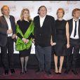Gérard Depardieu à la première de Potiche