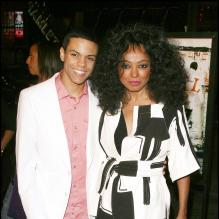 Diana Ross et son fils Evan, Los Angeles, mars 2006