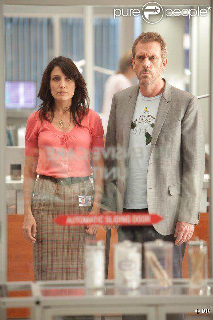 Dr House (Hugh Laurie) et Lisa Cuddy (Lisa Edelstein) dans Dr House