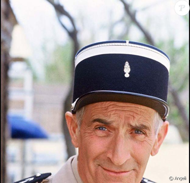 Louis de Funès dans Le Gendarme