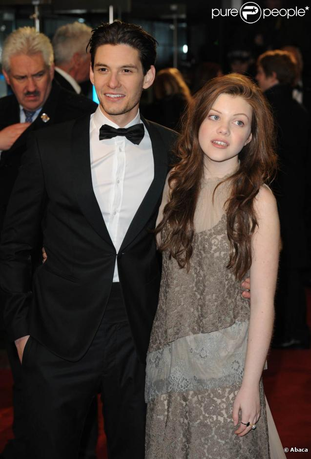 Georgie Henley couple