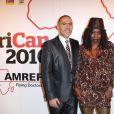François Durpaire et Princesse Erika lors du gala AfriCAN le 29 novembre 2010 à Paris