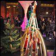 Ambiance lors de la soirée Sapins de Noël des créateurs à l'Espace Vendôme à Paris le 1er décembre 2010