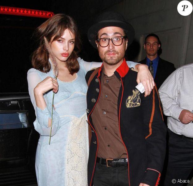 Charlotte Kemp Muhl et Sean Lennon à Los Angeles, le 18 novembre 2010.